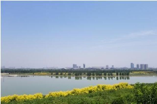 荒滩变绿洲:生态修复让石家庄的母亲河又变美了