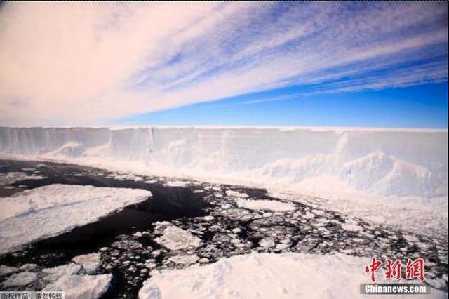研究称近16年南极洲3兆吨冰消融 加剧海平面上升