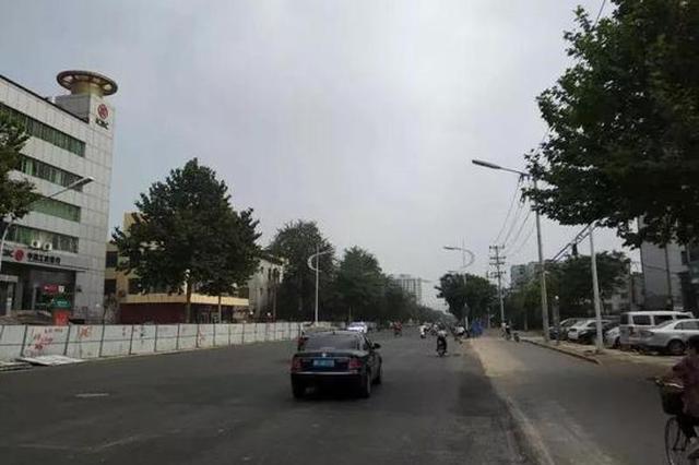邢台:新华南路通车 这条街道即将断交两个月