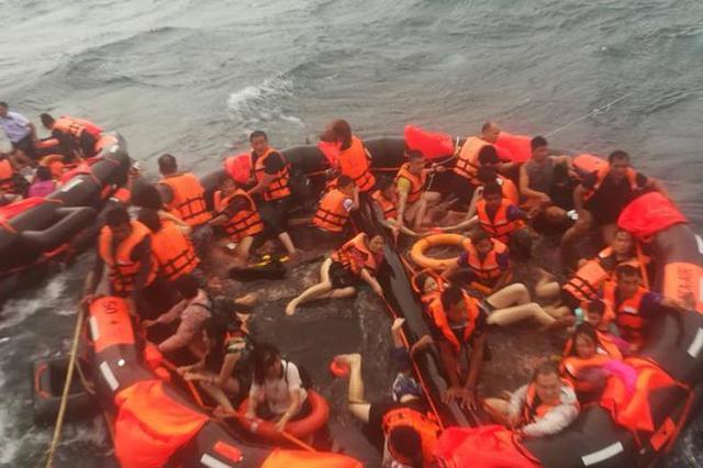 泰国游船翻船:1人溺亡 失踪人员含50名中国公民