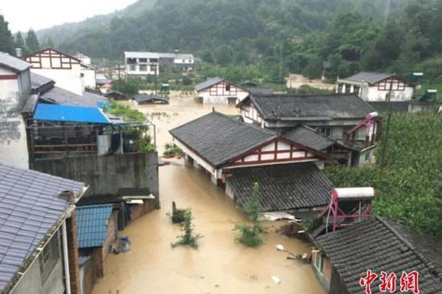 华北四川等地迎强降雨 国家救灾应急响应启动