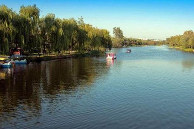 """邢台市区东部明年将现""""一河十二湖"""" 约13公里长"""