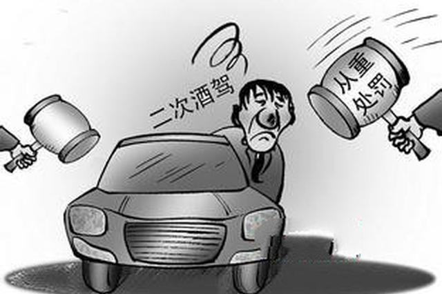 沧州一司机二次酒驾遇路查 掉头逆行也难逃