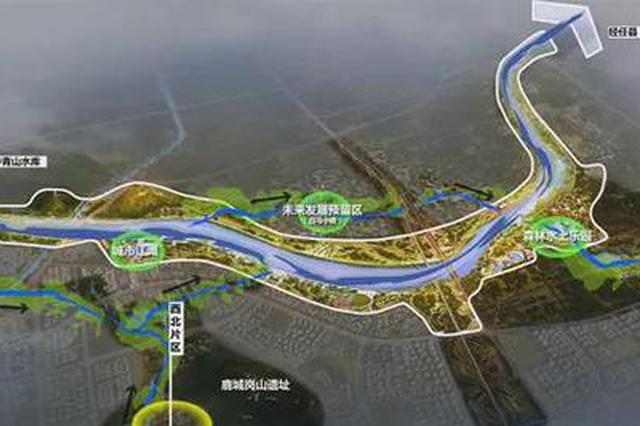 """邢台将迎来13公里长的""""一河十二湖"""" 效果图曝光"""