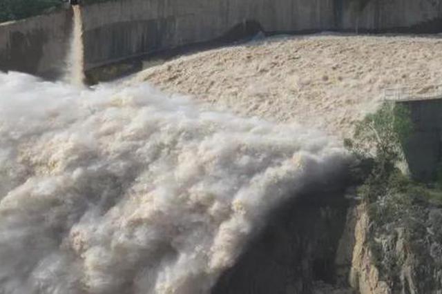 紧急提醒岗南黄壁庄水库正在泄水 请远离河道