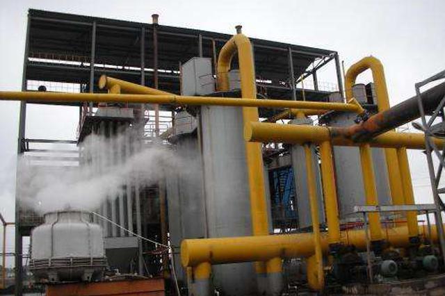 邢台一企业启动煤气应急自动点火装置 未发生污染
