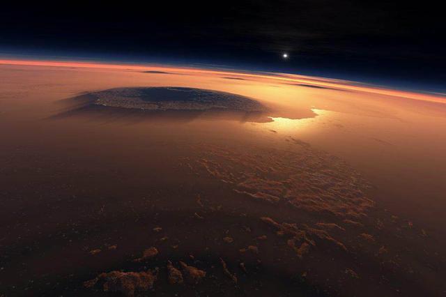 火星有一个约20千米宽的液态地下湖 属首次发现