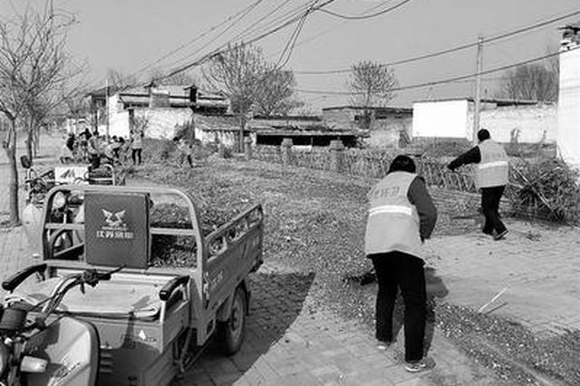 邢台:巨鹿城乡垃圾处置全覆盖 垃圾运输绿色环保