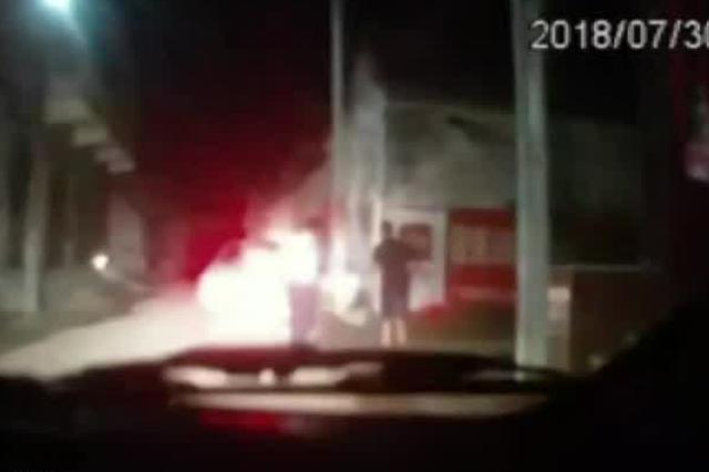 邯郸假交警专挑外地车 上路拦车被抓现行