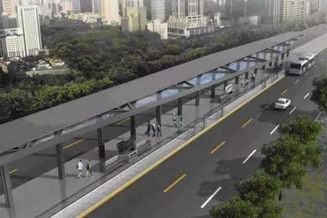石家庄首条快速公交BRT1号线规划来啦 总长27公里