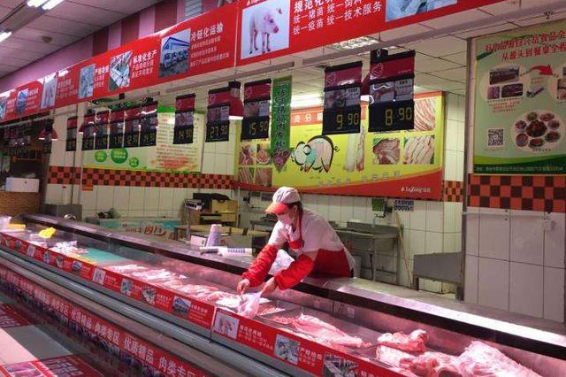 """唐山88家超市参创""""放心肉菜示范超市"""" 专柜777个"""