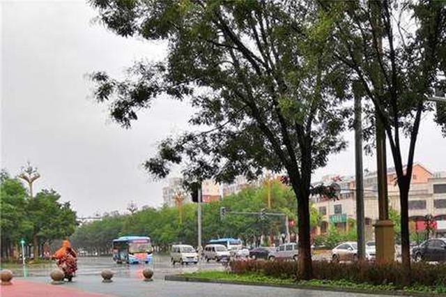 强降雨后城区无内涝 迁安海绵城市建设显实效