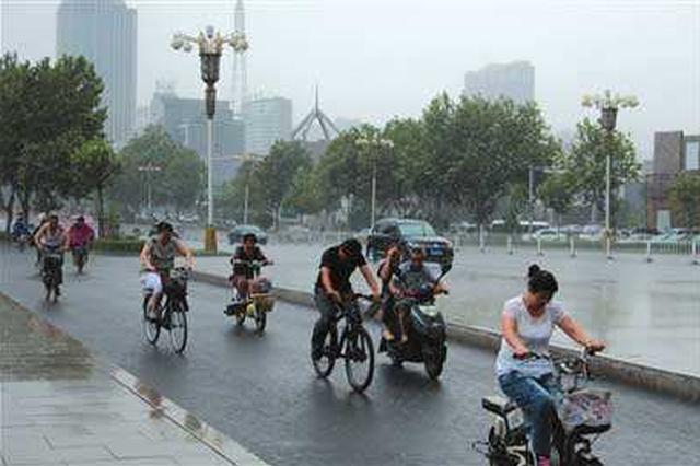 未来3天河北多地有雷阵雨 局地中到大雨