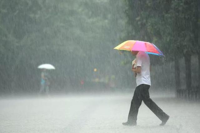河北受台风影响迎来新一轮强降雨 局地有暴雨