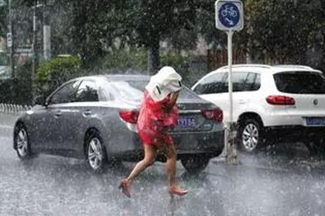 """台风""""温比亚""""北上 未来3天河北暴雨大暴雨来袭"""