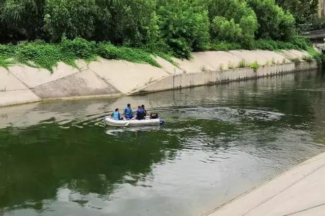 石家庄15岁女孩落入石津灌渠 21岁小伙下水营救遇难