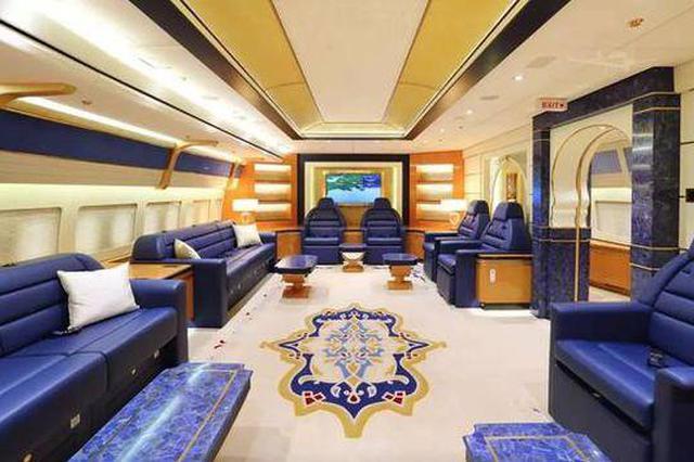 地球上最新最豪华专机 卡塔尔王室说不要就不要