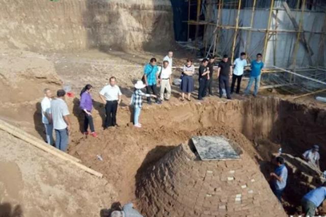 河北邱县发现一唐代古墓 出土文物70余件