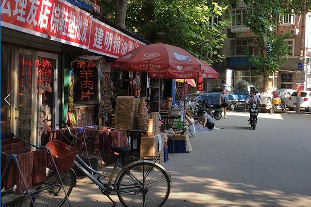 石家庄部分菜市场怪现状:市场变车间 小区变市场