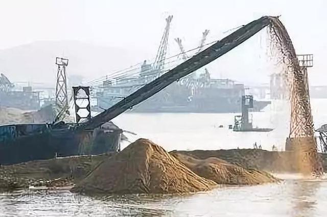 唐山严打盗采海砂走私犯罪 每船可处50万元处罚