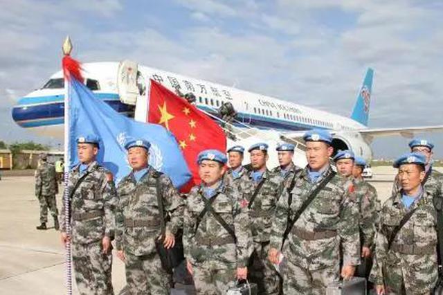 """8名沧州籍官兵荣获联合国""""和平荣誉勋章"""""""