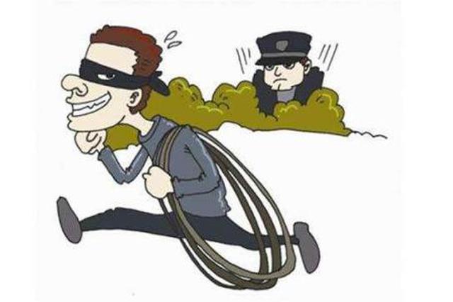 邢台:两人疯狂盗窃60余万元铜丝 买家也被刑拘