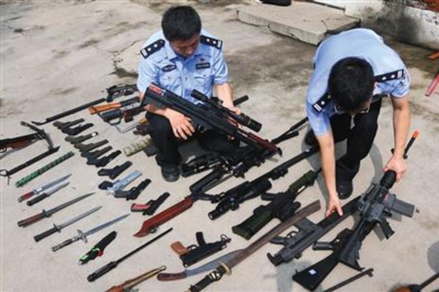 张家口查处涉枪案件2起刑拘2人 收缴枪支18支