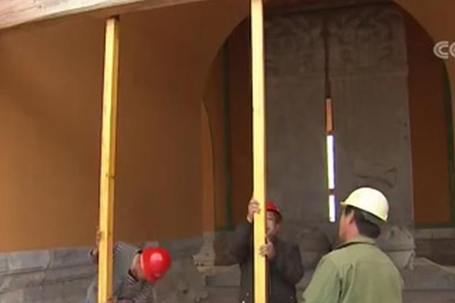 清东陵景陵大碑楼修复工程主体完工