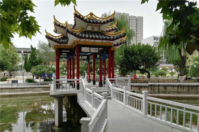石家庄:平安公园裕西公园改造完成 正式开放