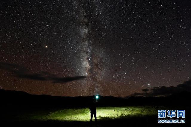 最美星空看西藏阿里