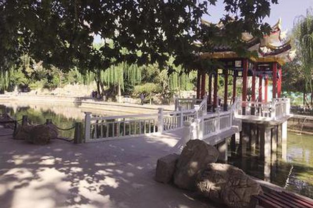石家庄这俩老公园改造完成正式开放 新建文化长廊