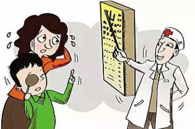 71%受访中小学生家长称开学后孩子视力下降