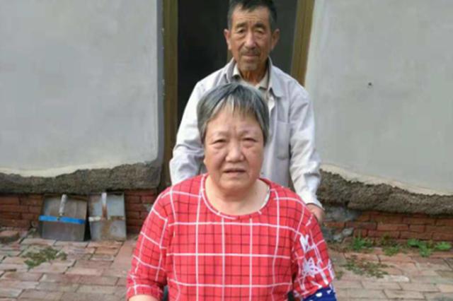 黄骅73岁农民30年如一日照料瘫痪妻子