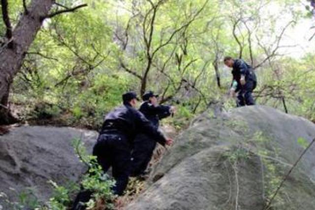 石家庄一古稀老人深山迷路31个小时 警方紧急搜救