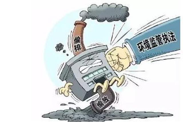 唐山开展环境执法行动 将对违法行为进行处罚