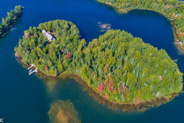美國私人島嶼860萬人民幣 綠樹環繞堪稱天然氧吧