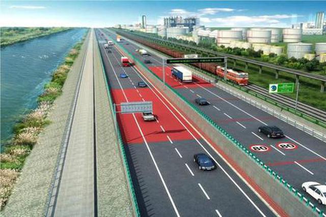 津石高速这一路段开工 未来雄安1.5小时到天津