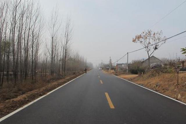 河北八大工程建設農村公路 重點支持10個貧困縣
