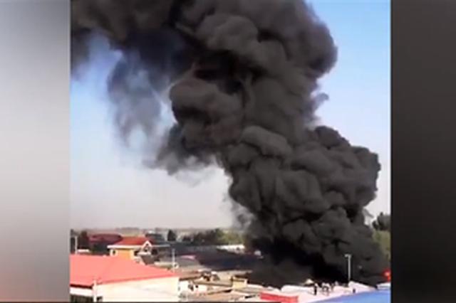 保定高陽縣一座墊廠發生火災 3名女工1死2傷
