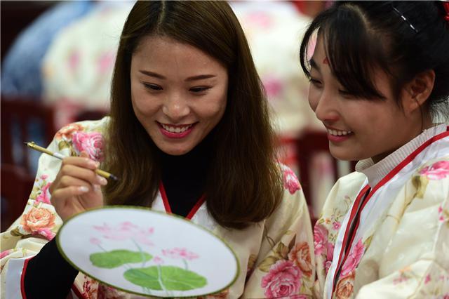 沧州:教师学国学 传统文化进校园
