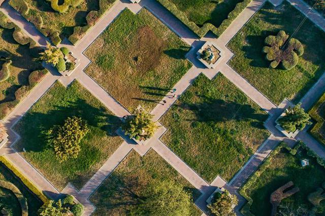 武安:城郊荒地变身生态公园