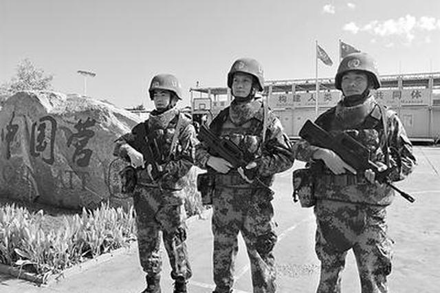 河北籍军人苏南苏丹维和:一去万里为国远征