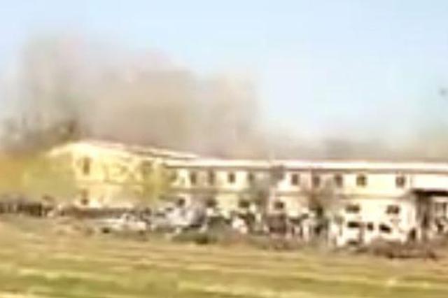 河北安新一鞭炮厂发生爆炸 导致一人死亡