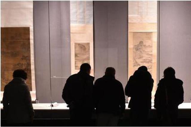 中国国家博物馆藏明清书画展在河北博物院开展