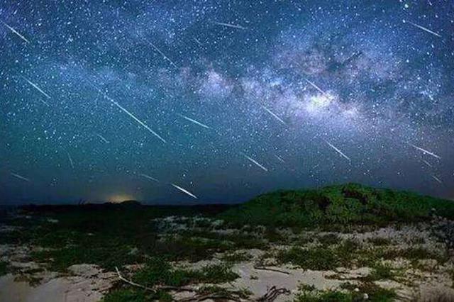 2月8日天宇將上演一場流星雨 正趕上無月夜