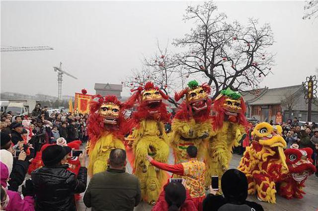 春节长假160.8万人次畅游正定 总收入超6亿元