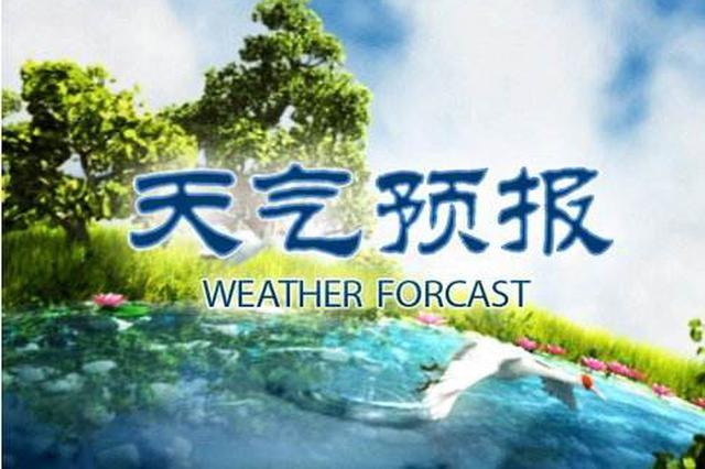 明早到上午中南部有雾 白天天气晴朗局地重度霾