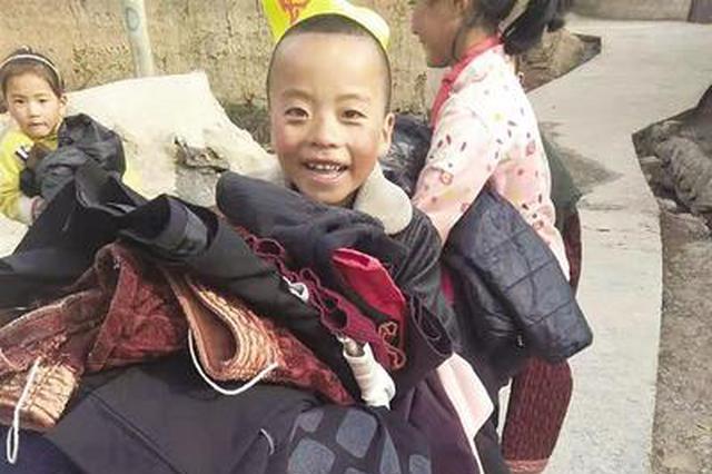 沧州志愿者驱车五千里赴川送温暖 情系大凉山