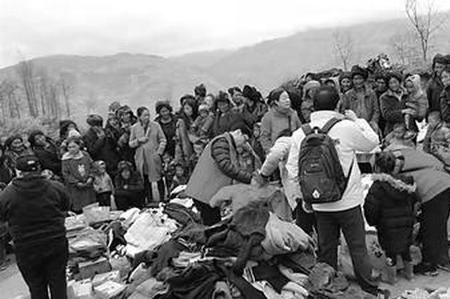 沧州志愿者驱车五千里赴大凉山 受助男孩一眼认出