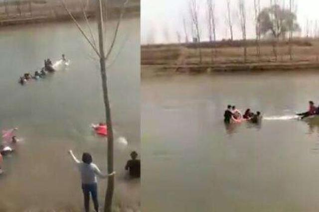 沧州群众落水事件:5名涉事人员被刑拘1人在逃